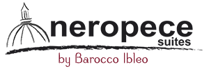Nero Pece Suites – by Barocco Ibleo Logo